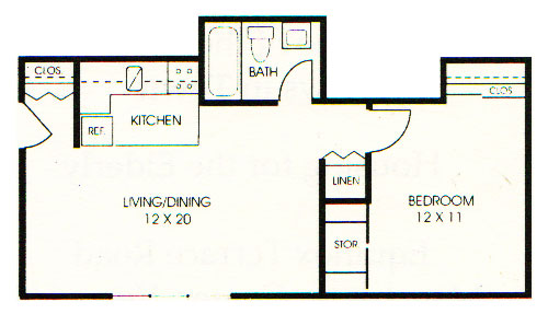 Meadows Apartments Floorplan